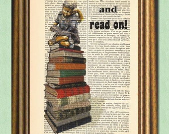 READ ON -Dictionary Art Print- Wall Art