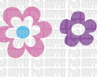Spring Flower SVG, DXF - Digital Cut file for Cricut or Silhouette svg, dxf