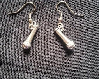 Microphone Earrings