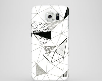 Shapes mobile phone case / Samsung Galaxy S7, Samsung Galaxy S6, Samsung Galaxy S6 Edge, Samsung Galaxy S5 / graphic samsung galaxy case
