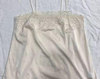 Cream + Lace Slip