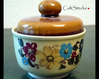 Vintage porcelain jar sugar bowl CP