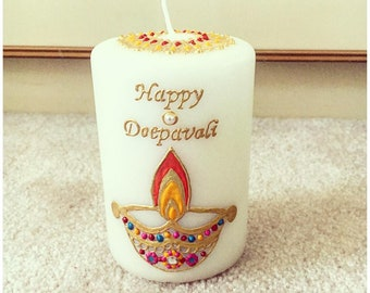Small Diwali Candles