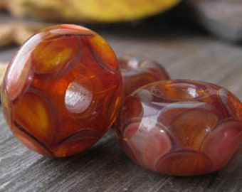 AGB boro glass lampwork beads, Dreams to be a Bird...