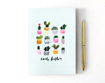Illustrated Cacti Notebook