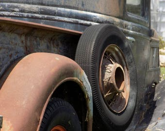 Notecards Old Truck Rustic Art 25% off with coupon code SPRINGSALE