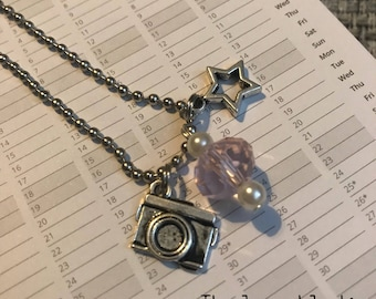 Camera / Photography Planner Charm or Keyring