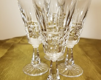 Waterford crystal cordials set of 4