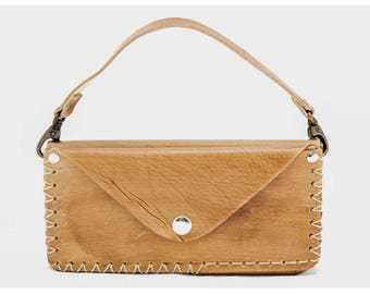 Perla 10951: Woman Bag-Wallet (Milky Brown)
