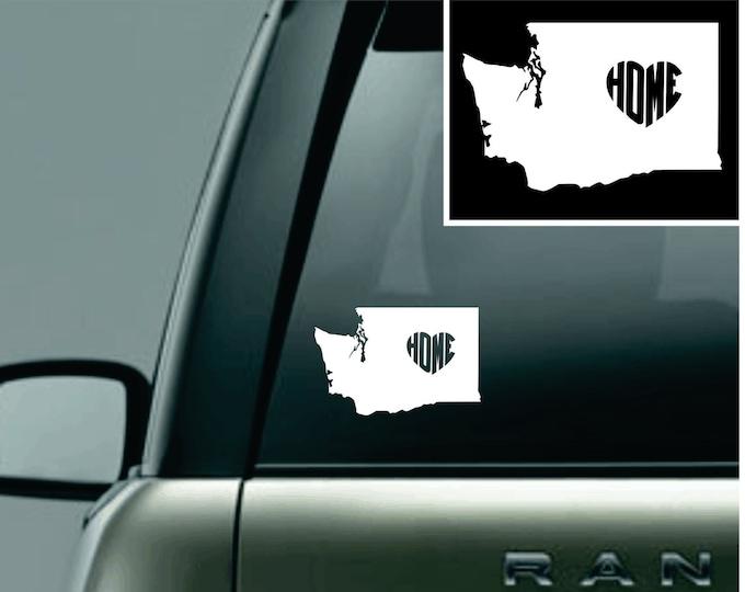 Washington Love Your State Car Decal