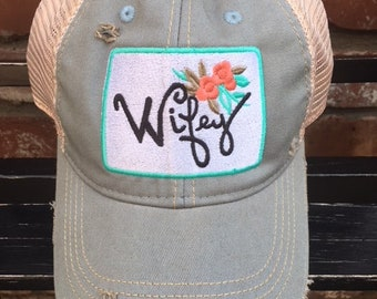 Wifey Trucker Ball Cap