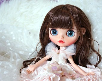 OOAK Custom Art Blythe Doll By ShaoSweet - Cindy