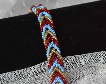 "Bracelet ""Indian braid"""