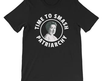 Rosa Luxemburg - Time To Smash Patriarchy - Feminist Marxist Shirt