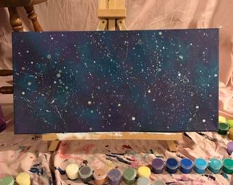 CUSTOM 12in x 24in 'Intergalactic'