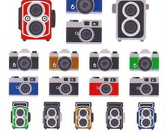 Camera Stickers - Mind Wave Stickers - Reference A3425-26
