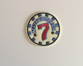 7  Iron on patch