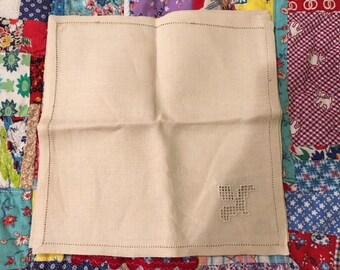 Vintage Napkins from Occupied Japan set of 4