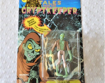 """1990's Tales From The Cryptkeeper """"The Zombie"""" Action Figurine/ Good Condition"""