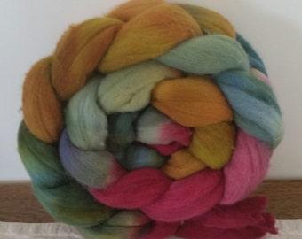 Wool Roving- Flora