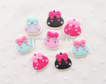 5pcs - Kawaii Hoppe Chan Cute Mix Decoden Cabochon (27x28mm) CHA001