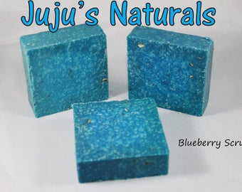 Blueberry Scrub - Handmade Soap