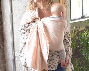 Linen Ring Sling, Linen Bamboo Sling , Baby Sling, Baby Carrier, Egornomic Carrier