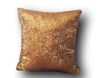 Wedding and Event Pillows| Gold Sequin Pillow| Gold Pillow | Sequin Pillow