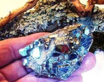 Pyrite Specimen, Iron Sulfide Crystals