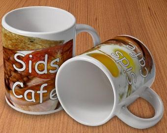 Personalised Cafe Mug
