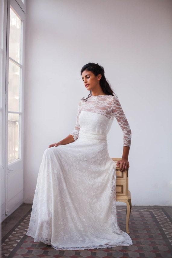 Maternity lace wedding dress maternity dress lace bridal