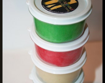 One 3oz Natural Homemade Play Dough-Great Party Favor Gift, Playdough, Treat Bag Gift- BUILK PRICING