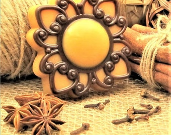 Oriental  Pattern Soap-Beauty Soap