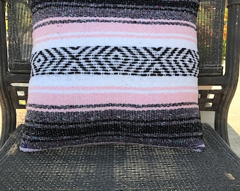Mexican Blanket Pillow Cover