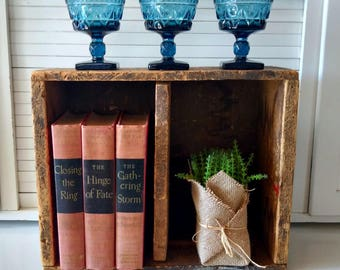 Vintage Wooden Winchester Ammo Box Wood Crate Rustic Home Decor Farmhouse Style Garden Kitchen Storage Plant Box Wedding Centerpiece Table