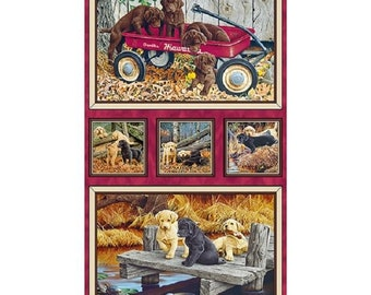 Labrador-able Patch Panel by Quilting Treasures
