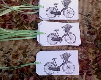 bike tags, applique..Qty 12pcs.