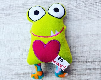 Love Monster ITH Embroidery Pattern