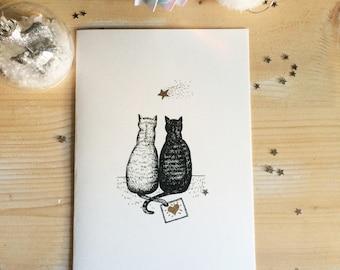 Cats card love