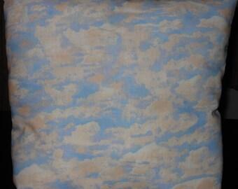 Cloud Pillow, 14 x 14 Decorative Pillow