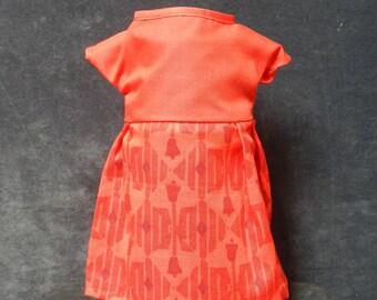 Rag Doll Dress - Red Print