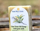 Tea Tree Oil Goat Milk So...