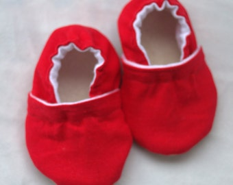Red baby shoes red baby booties red baby slippers red toddler shoes newborn red shoes kids baby shower red shoes for baby red baby clothing