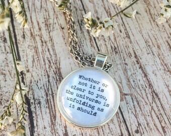 Desiderata Cabochon Necklace