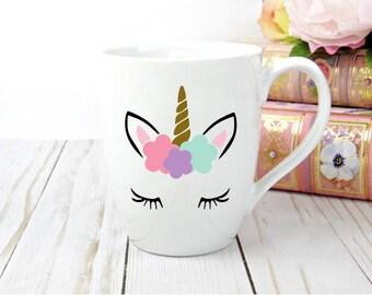 Unicorn mug | coffee mug | coffee cup | coffee lover gift | ceramic mug | coffee gift | unicorn gift | unicorn coffee cup |