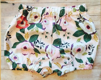 Baby Bloomers, bloomer shorts, bubble shorts, baby girl bloomers, newborn shorts, baby shorts, toddler shorts, newborn bloomers