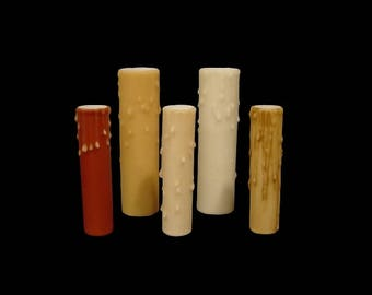 Beeswax Candle Cover - Medium Base Size