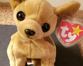 TY Beanie Babies Tiny the Chihuahua /Retired 1999 /Vintage