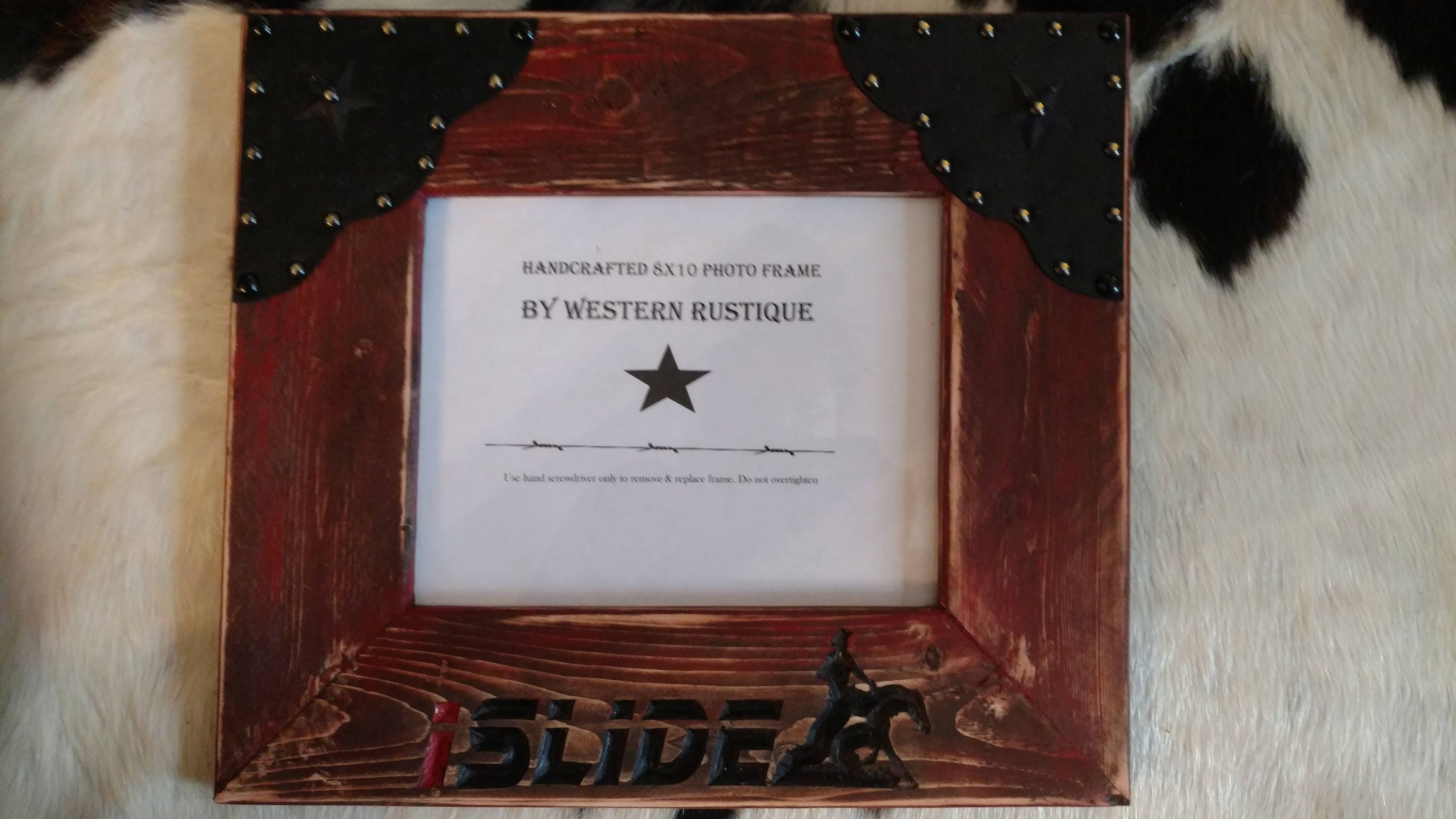 Western Decor And Awards 8x10 Picture Frame Personalize Your