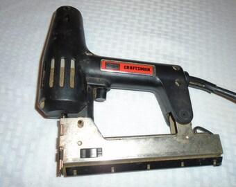 Vintage Craftsman Brad Gun